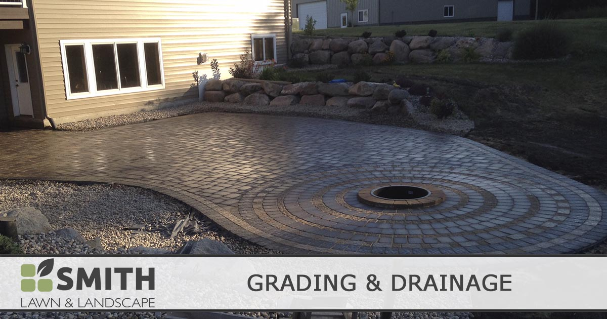 grading and drainage contractor