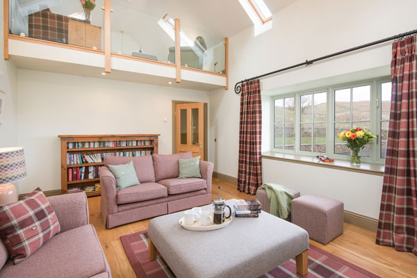 Elliot Houses - Time Luxury Holiday Cottage Living Room