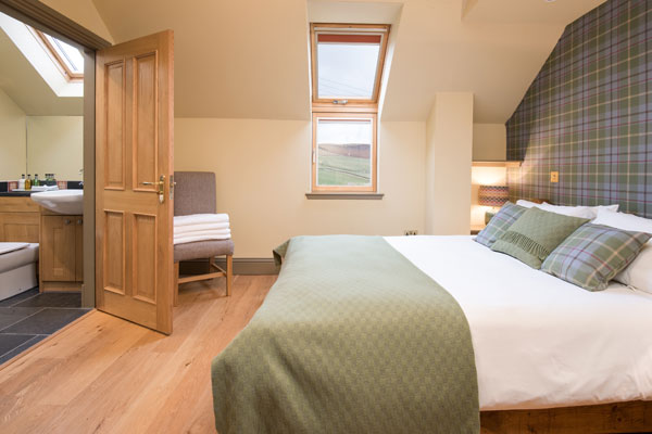 Elliot Houses - Time Luxury Holiday Cottage Bedroom