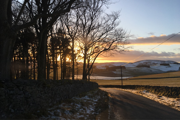 Elliot Houses - Dignity, Beautiful Scottish Borders Sunset