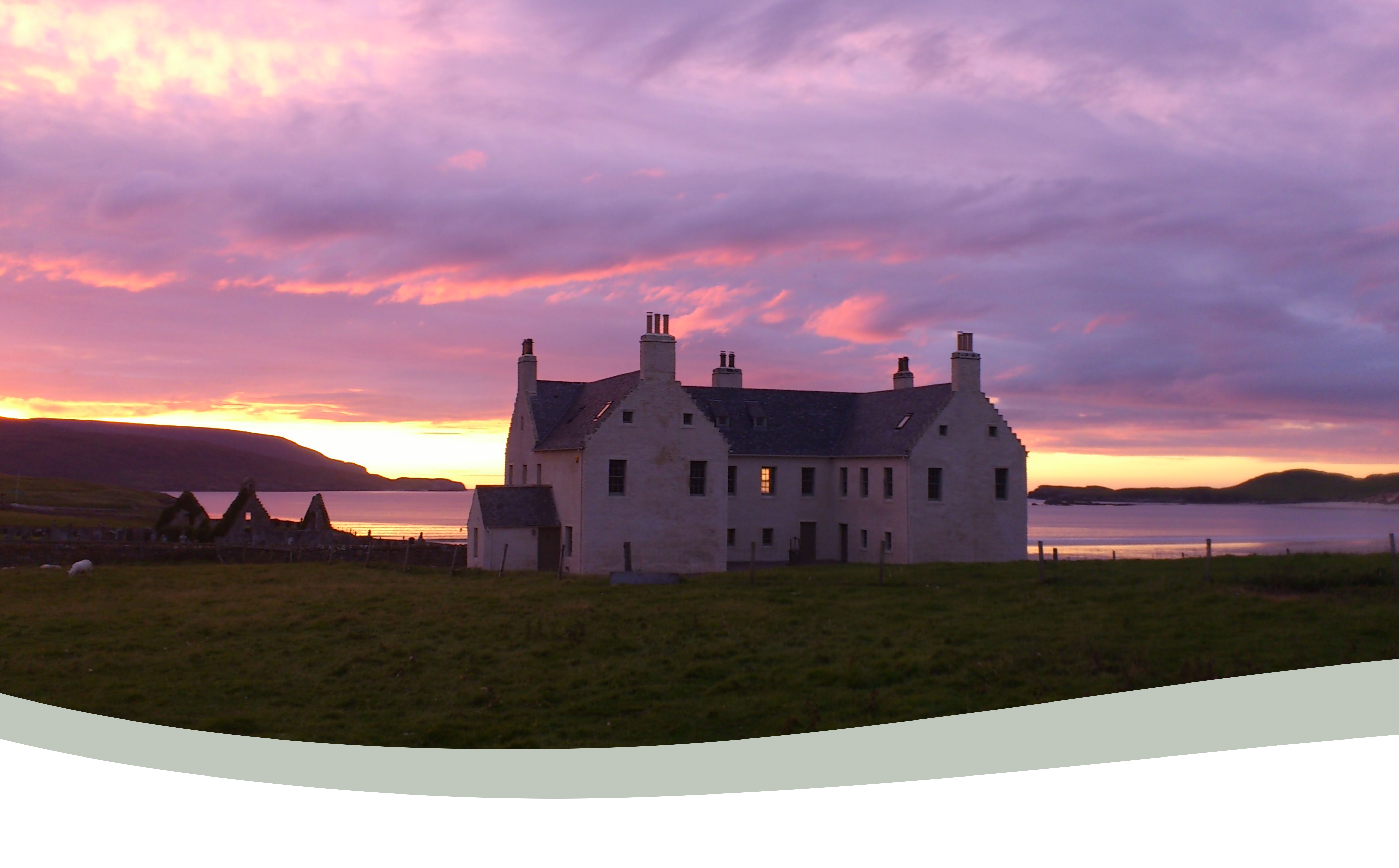 Elliot Houses - Balnakeil House Sunset
