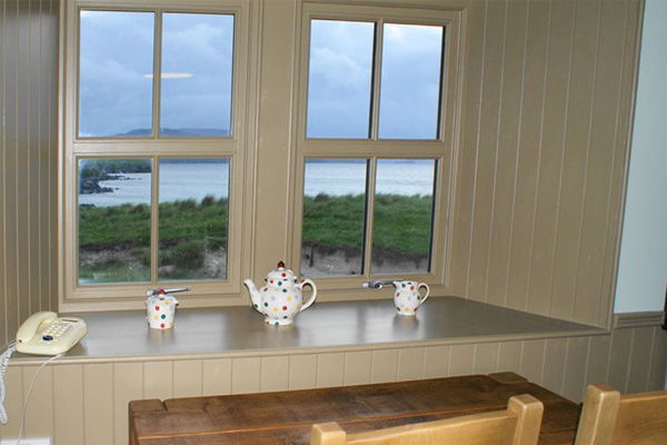 Elliot Houses - Balnakeil Bothy Window View