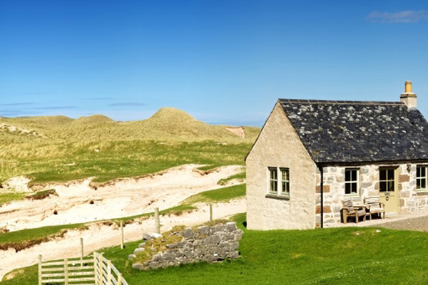 Elliot Houses - Balnakeil Bothy location