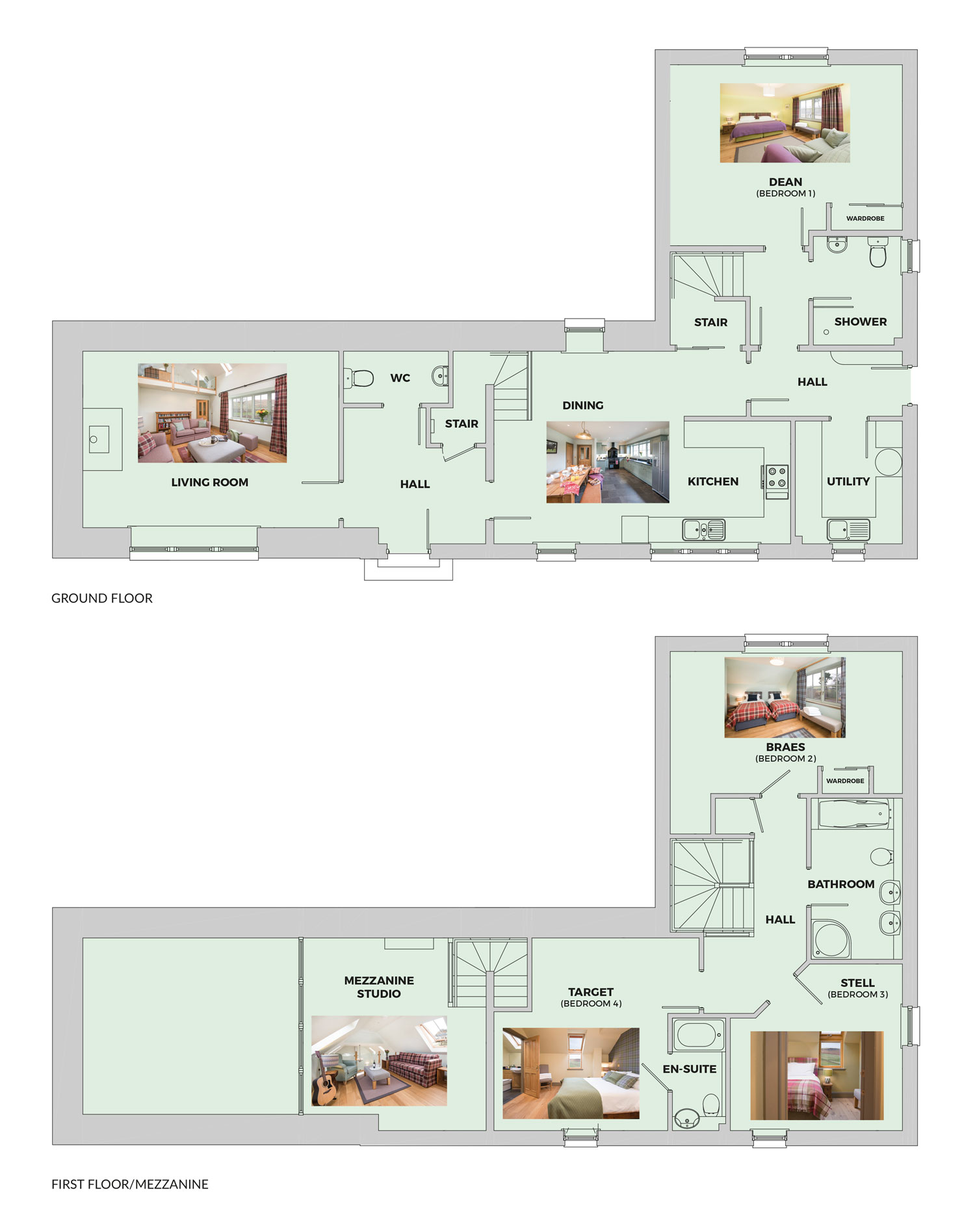 Elliot Houses - Time floor plans