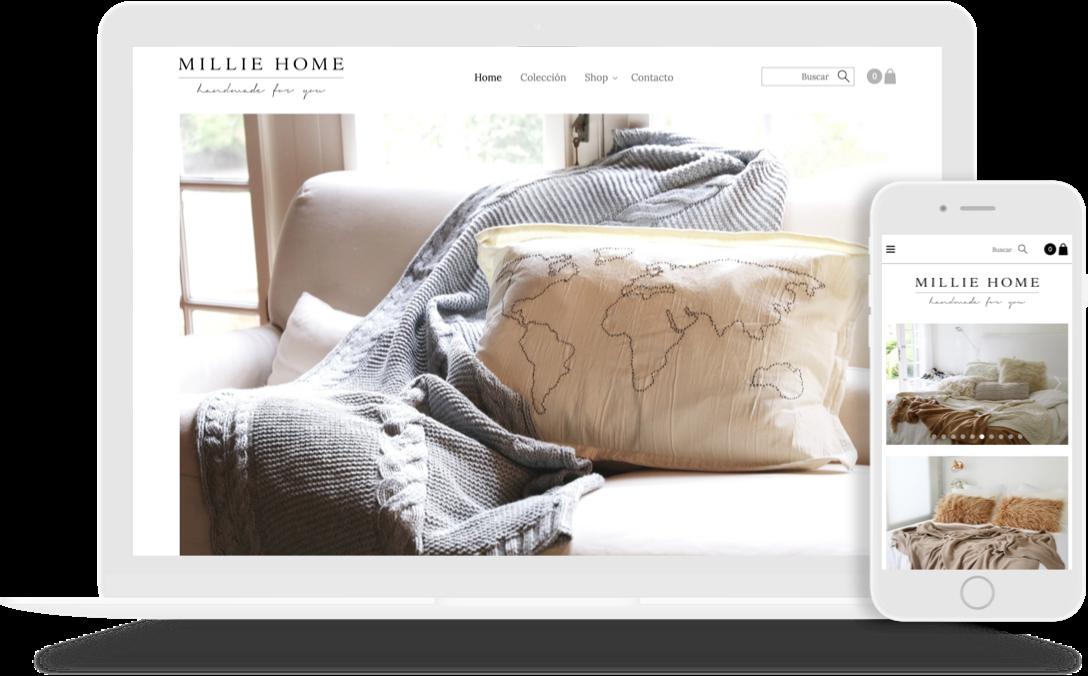 tienda virtual creada con mi pyme online davivienda