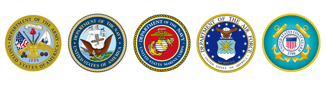 Emblems of the Military Branches