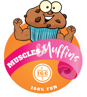 Muscles & Muffin at Indiana Gymnastics Center