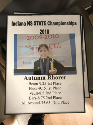 Autumn | 2010 State Champ