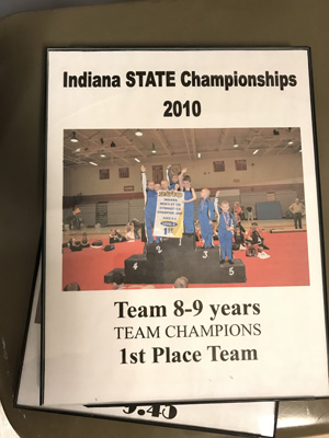 Team 8-9 years | 1st State Champ