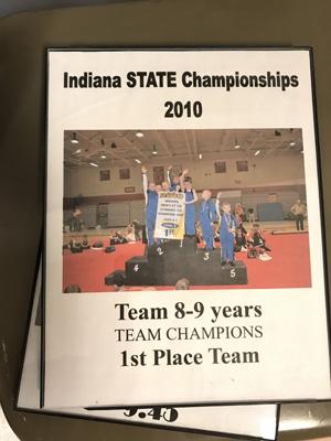 Team 8-9 years | 1st State Champ