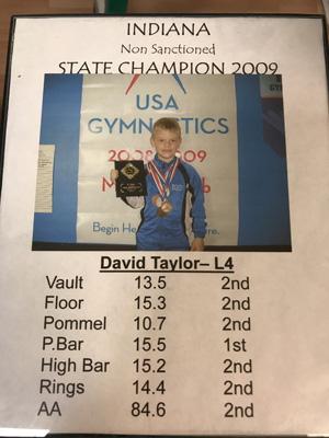 David | 2009 State Champ