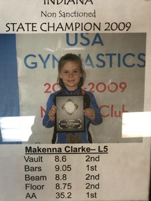Makenna | 2009 State Champ