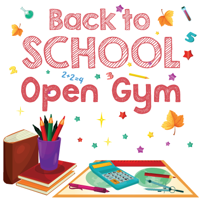 Back to school Open Gym at Indiana Gymnastics Center