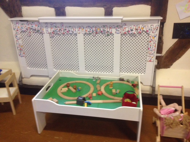 Chantry House Play Table