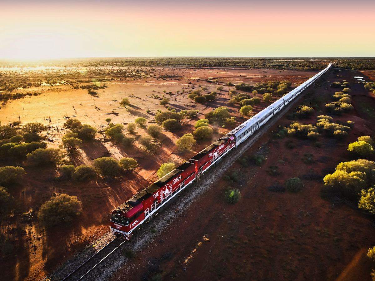 Darwin to Adelaide - The Ghan Expedition