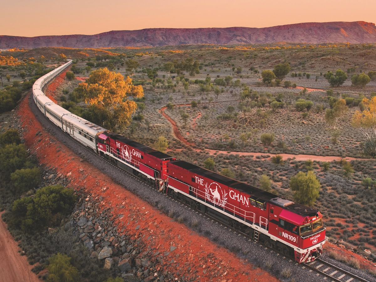 Wild Bush Luxury - The Ghan Expedition