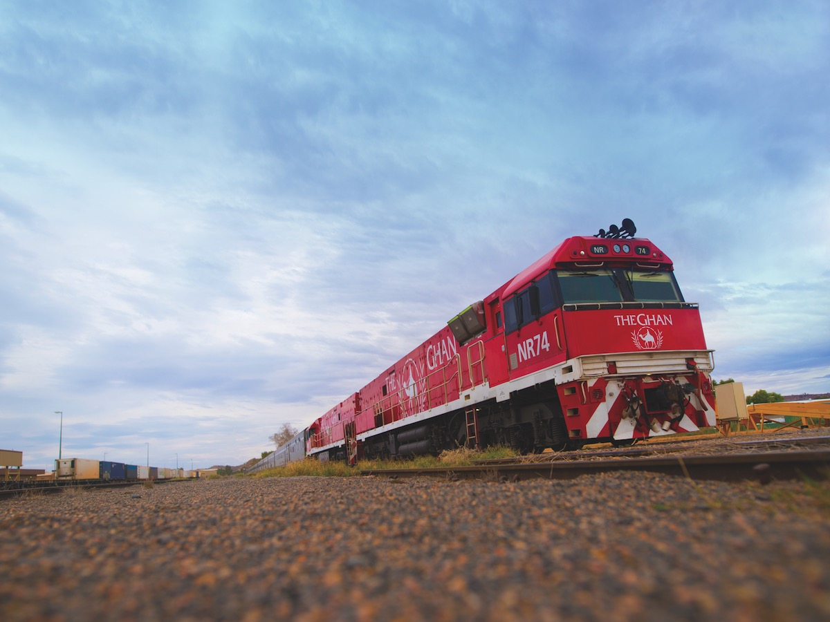 Adelaide to Darwin  - The Ghan Motorail