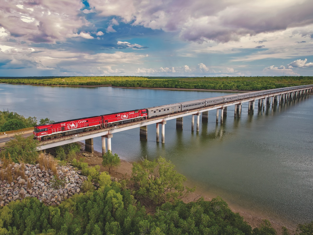 Darwin to Alice Springs - The Ghan