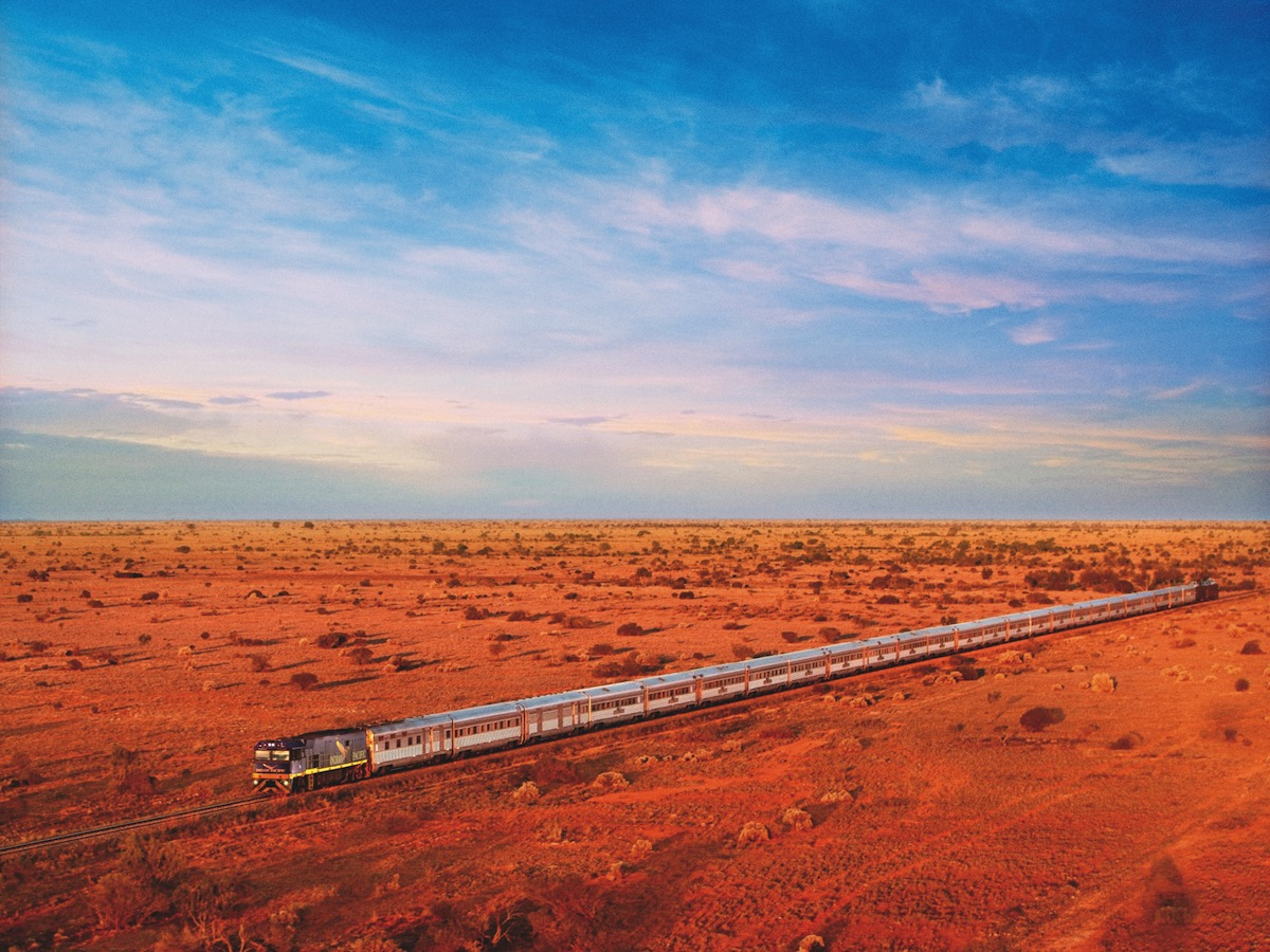 Perth to Adelaide - Motorail