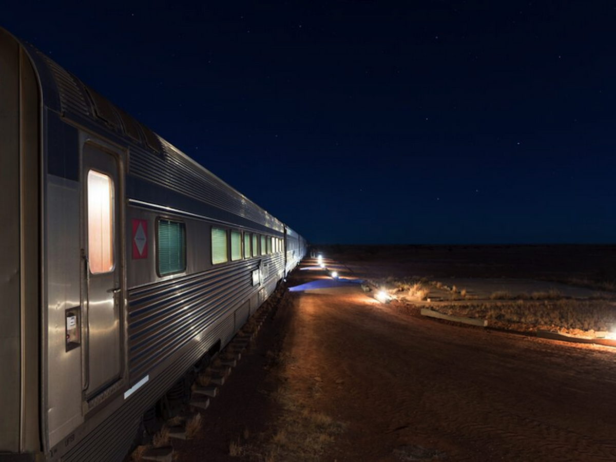 Darwin to Adelaide - The Ghan