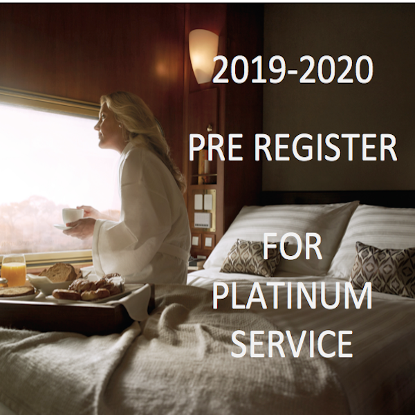 Platinum Available - The Ghan - June to August