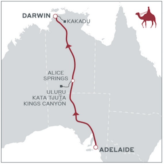 Where few have gone before - The Ghan