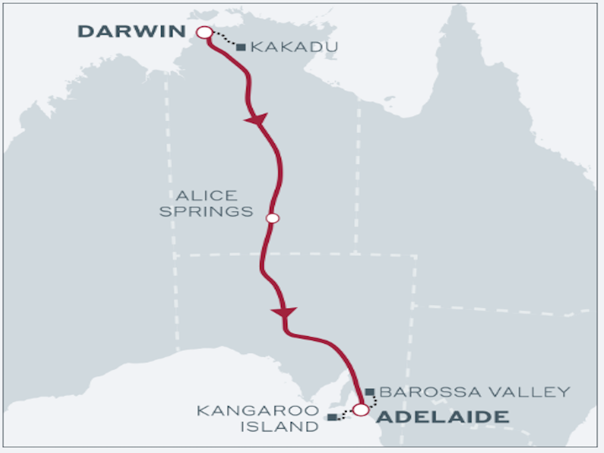 Outback to Island - The Ghan Expedition