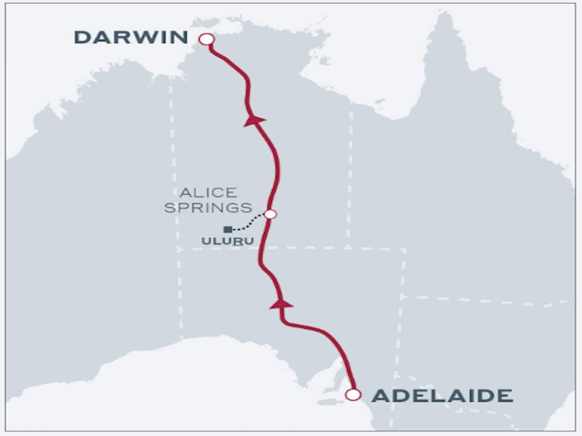 Spirit of the Red Centre - The Ghan