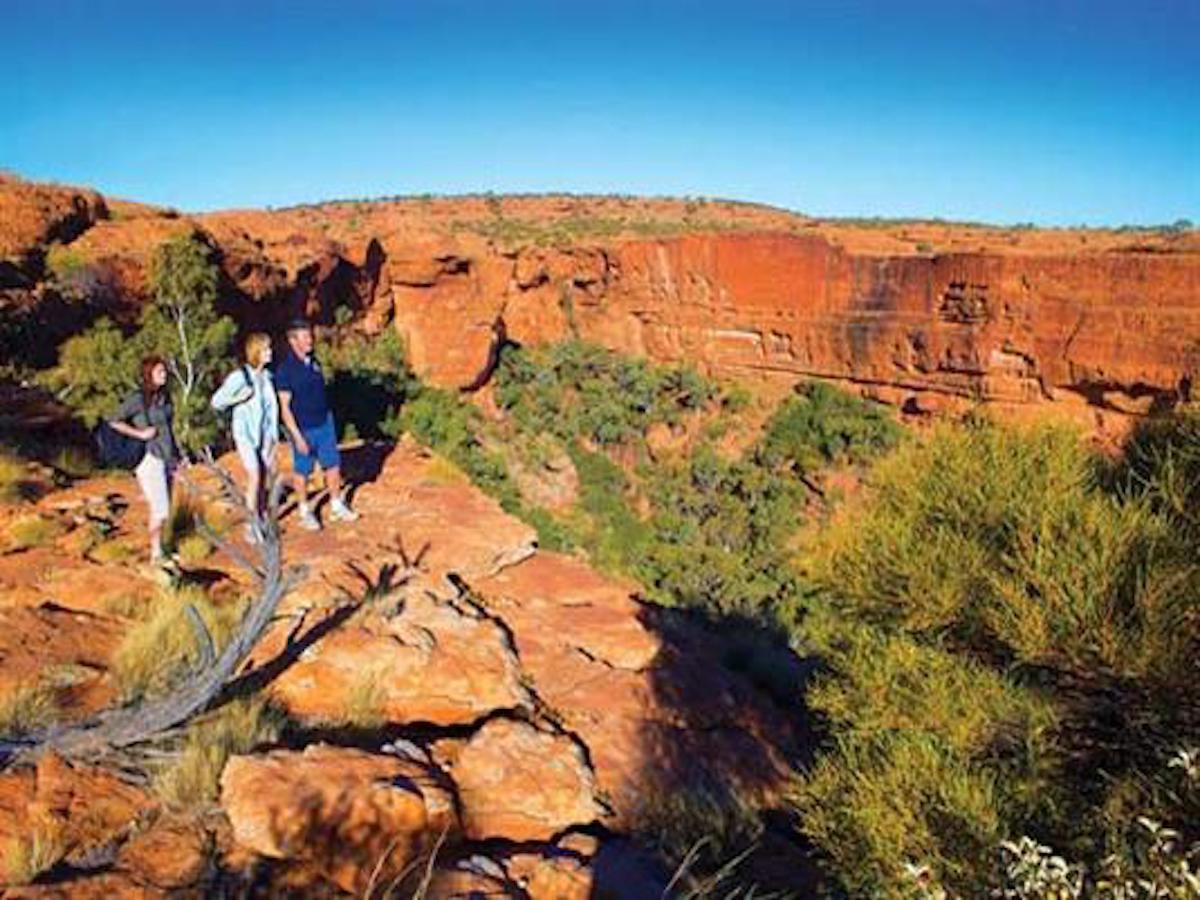Uluru and Kings Canyon - The Ghan