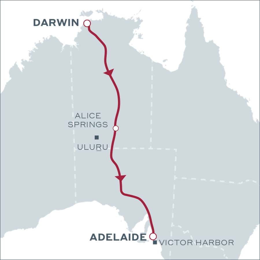 Seaside Spirit - The Ghan Expedition