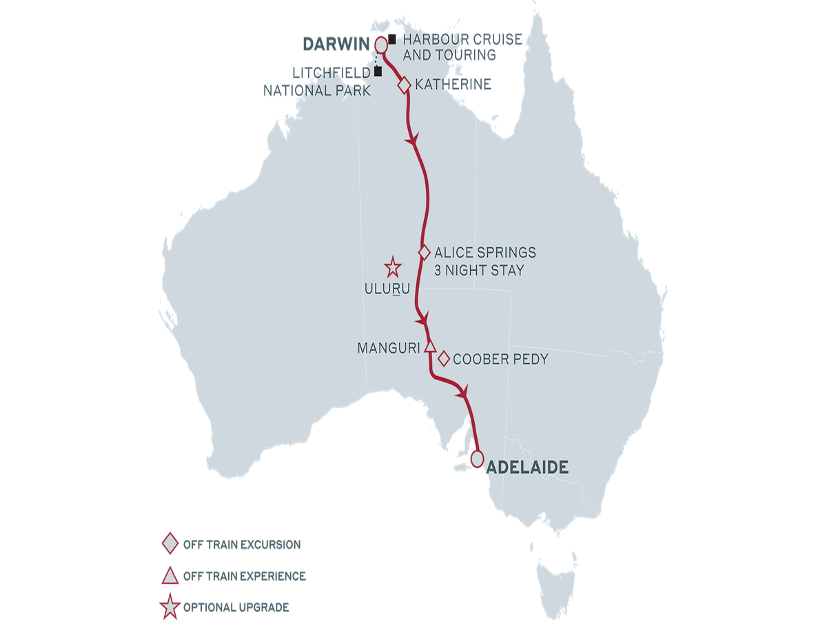 Top End Tour - The Ghan Expedition