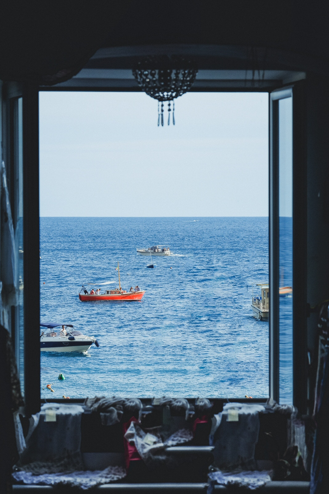 A Journey Through  Cetara window