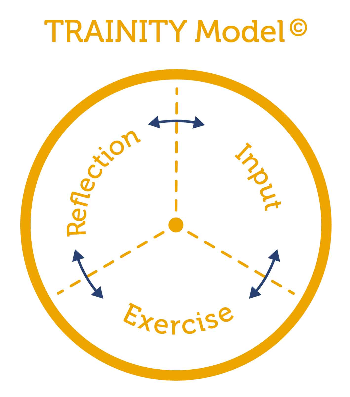 Model for successful training sessions - the trainity model