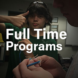 Full Time Programs Button