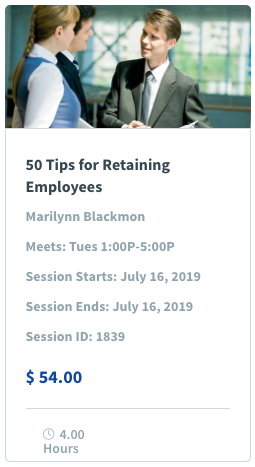 50 Tips for Retaining Employees Image & Class Promotion