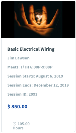 Basic Electrical Wiring Image & Class Promotion