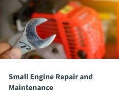 Small Engine Repair Image