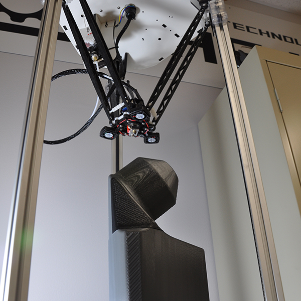 Image of a 3d printer in action.