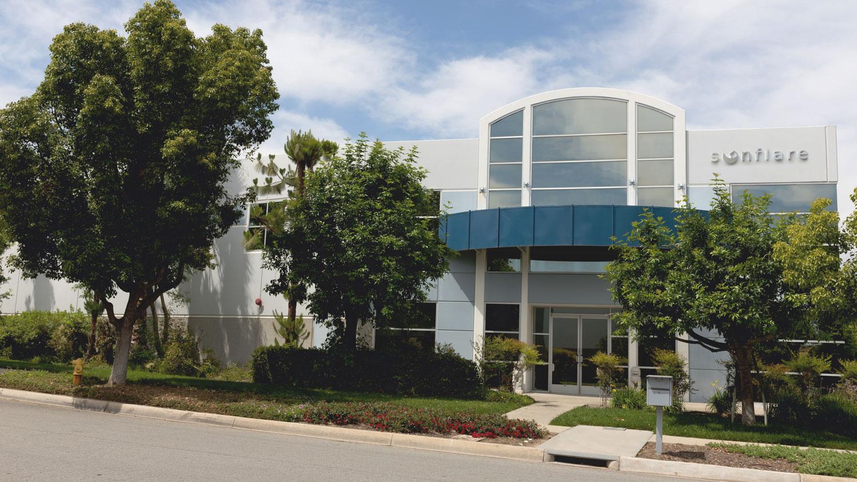 Sunflare HQ - Los Angeles area in La Verne California
