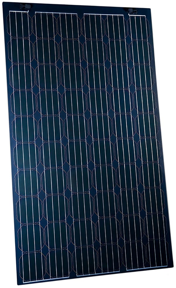 Sunflare Flex60 CIGS solar panel is thin, lightweight and flexible.