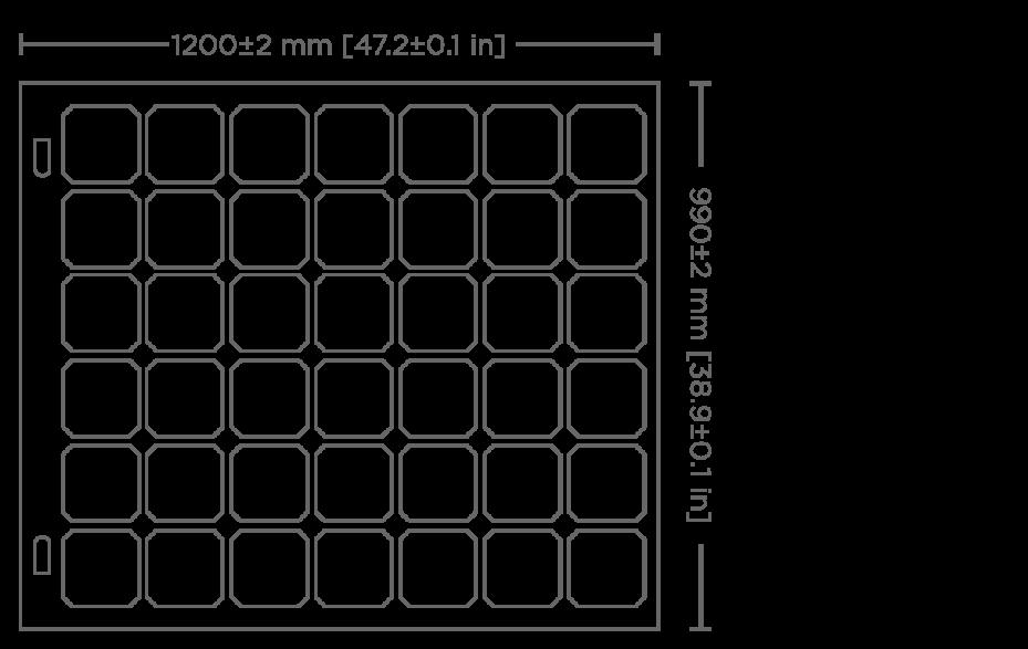 126W panel