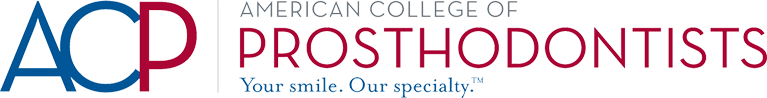 ACP, American College of Prosthodontists