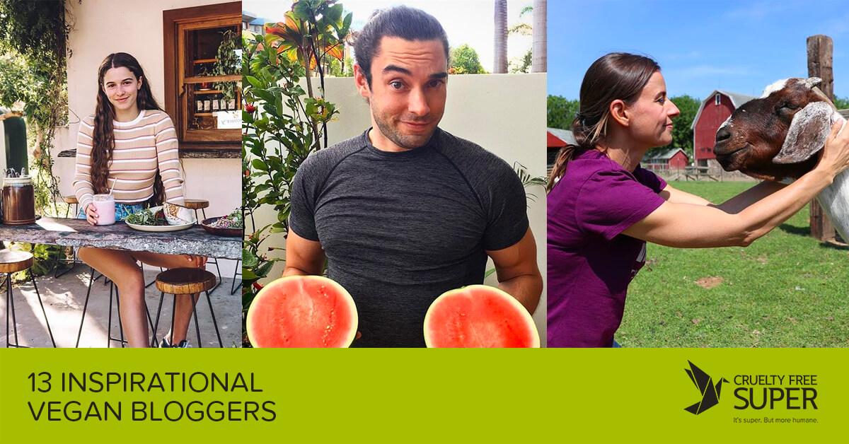 13 Inspirational Vegan Bloggers by Cruelty Free Super