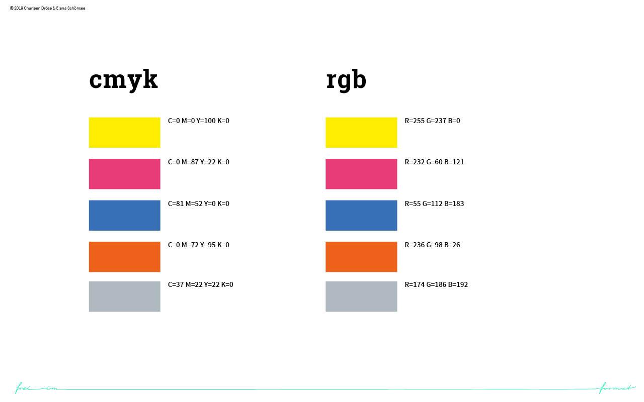 Einblicke in den Styleguide von next level. Die Farben.
