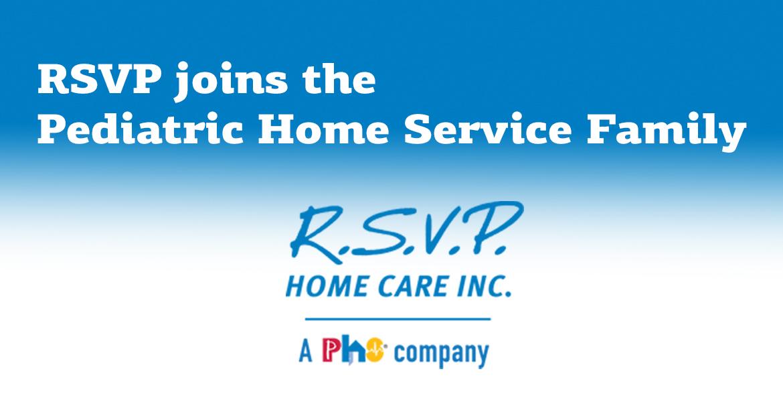 RSVP, a PHS Company cobrand logo