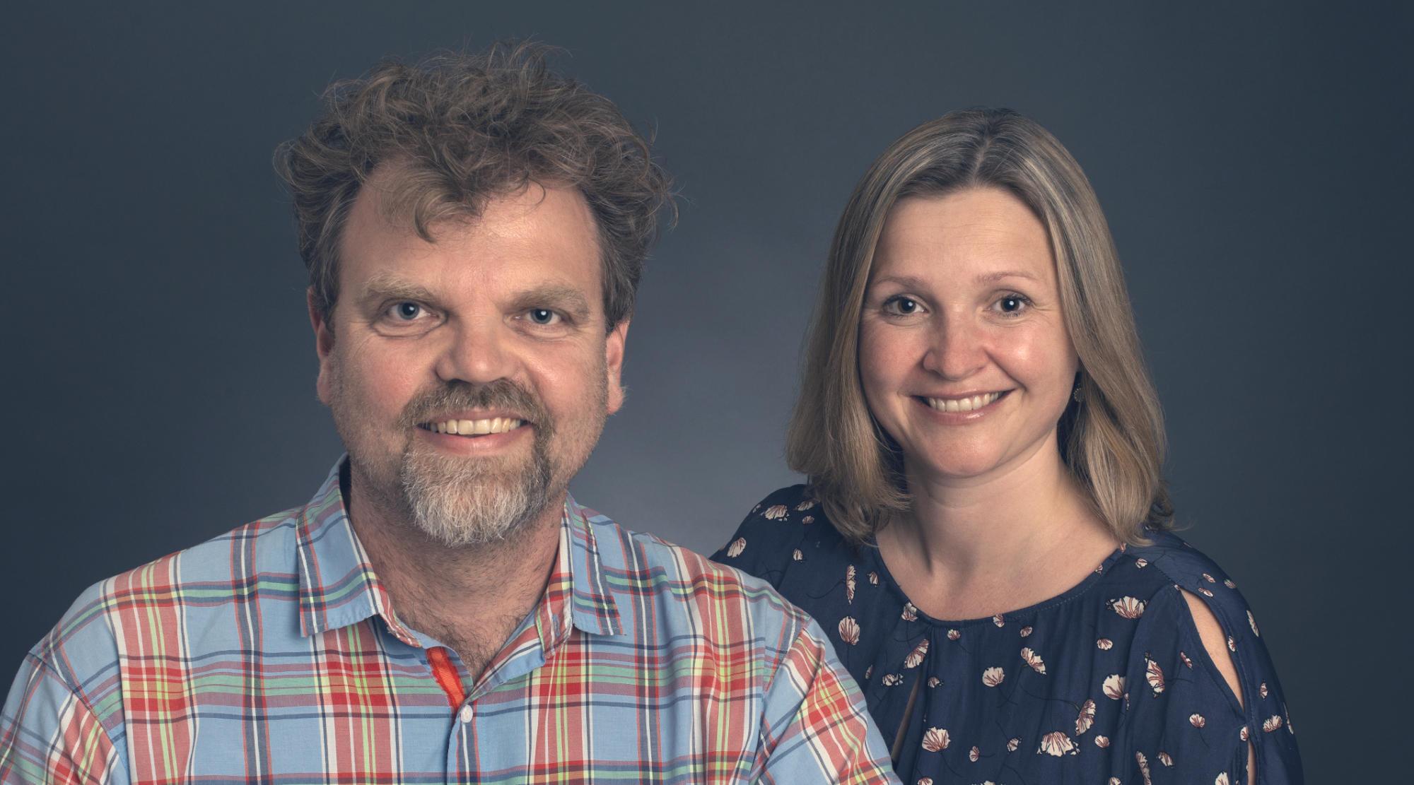 Jeppe Budde og Anne Blom Corlin