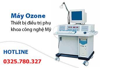 chữa viêm âm đạo bằng kỹ thuật ozone