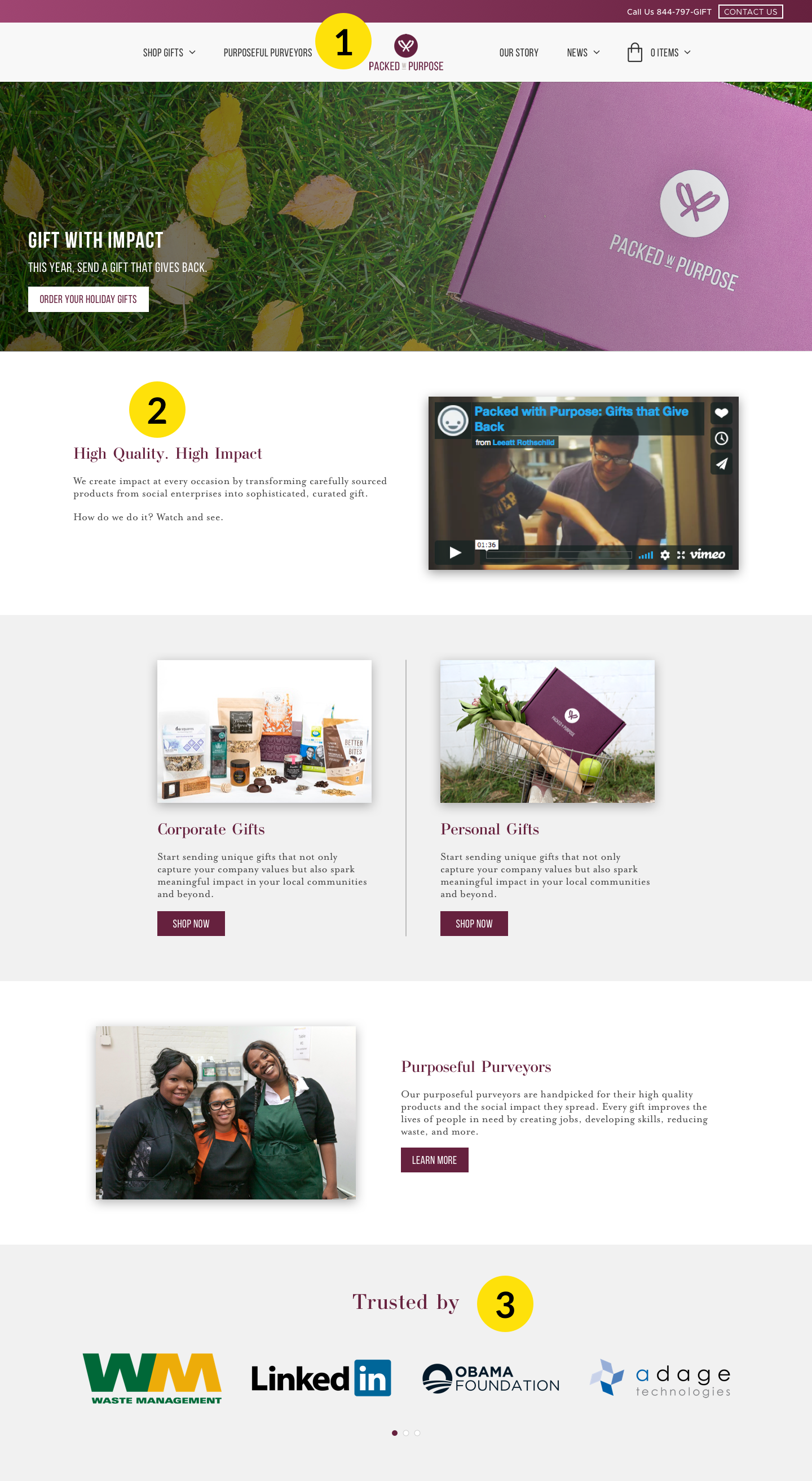 Packed with Purpose Case Study
