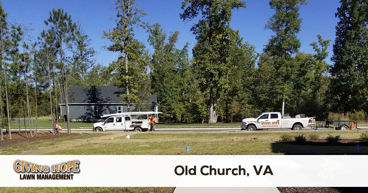 Old Church lawn service