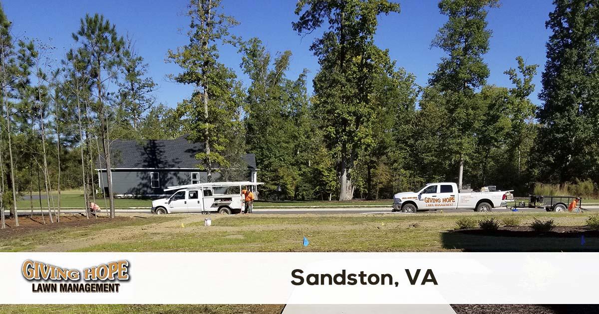 Sandston lawn service